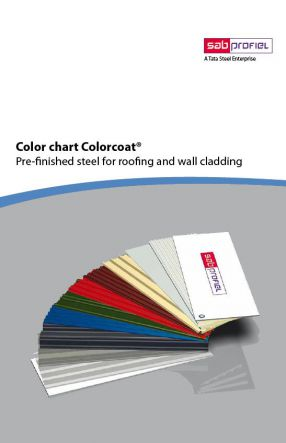 SAB Colorcoat Colorcard (2016)