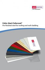SAB Colorcoat Colorcard